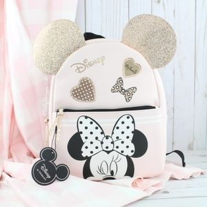 Pastel Minnie Mouse Backpack